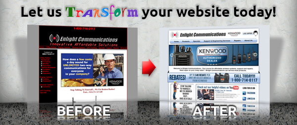 Let us transform your website