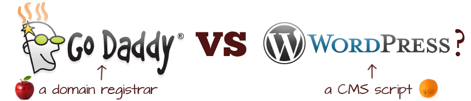Godaddy vs WordPress