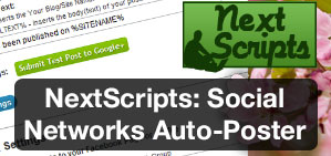 NExtScripts Social Networks Auto Poster