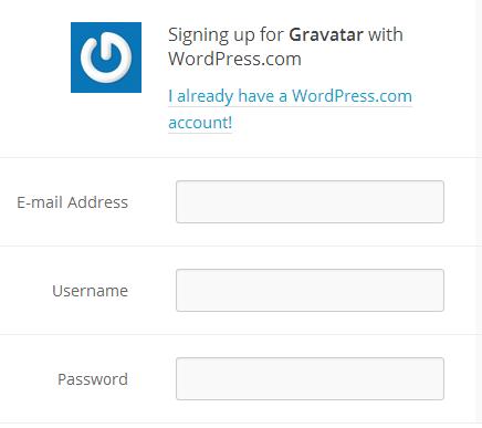 Create A Gravatar