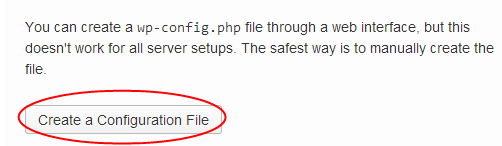 Create Config File