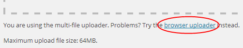 Browser Uploader