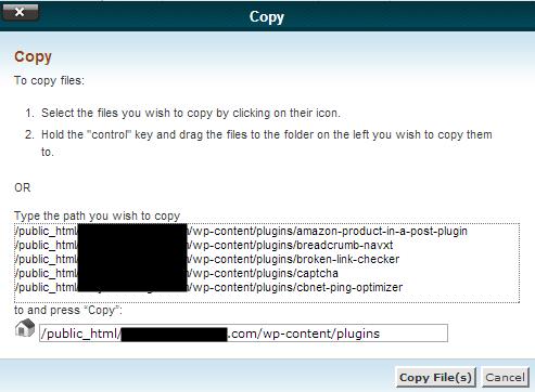 Plugin Copy Screen