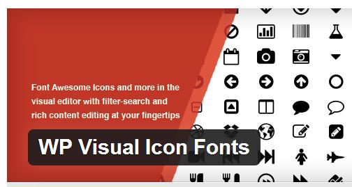WP Visual Icon Fonts