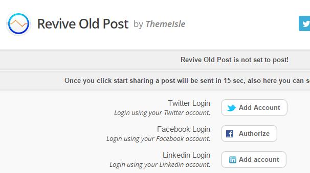 Add Social Accounts