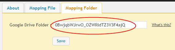 Enter Folder ID