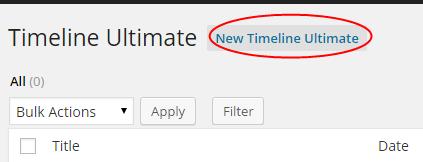 New Timeline Ultimate