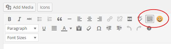 Visual Editor Emojis