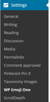 WP Emoji One Configuration