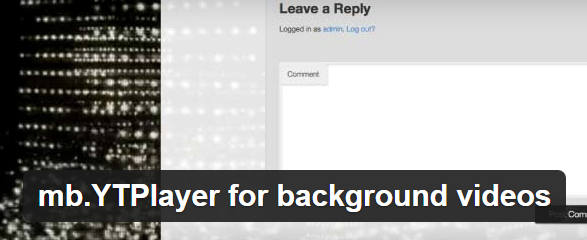 YTPlayer For Background