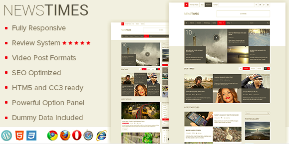 NewsTimes Theme