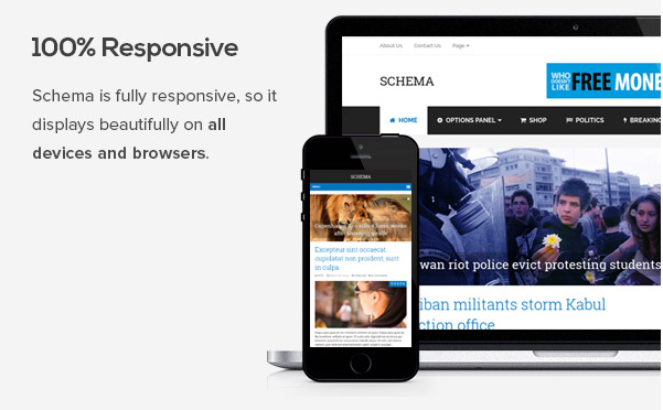 Schema SEO Theme For WordPress