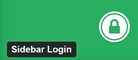 Sidebar Login