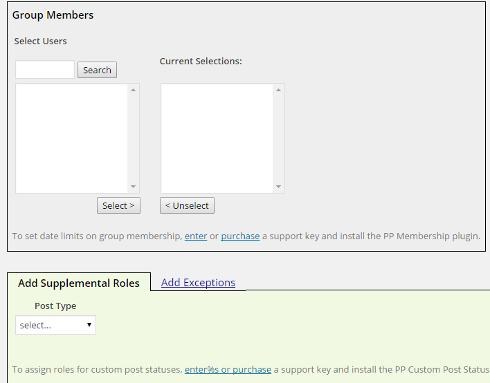 Add Users And Roles