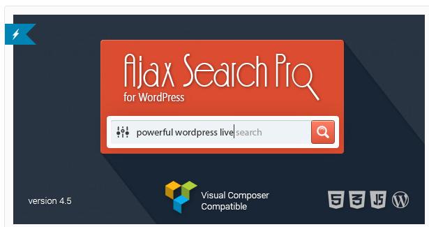 Ajax Search Pro for WordPress