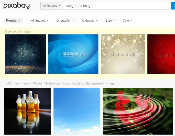 Pixabay Background Images
